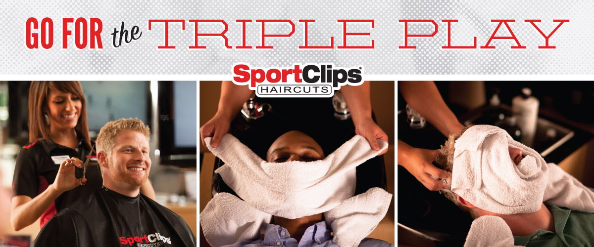 The Sport Clips Haircuts of Englewood Triple Play